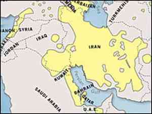 This map of a Sunni-Shia divide appeared in 2007 in an article by the publicly-funded US media outlet National Public Radio (NPR)