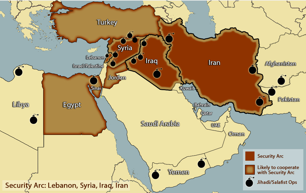 Security Arc forms amidst Mideast terror Mideast Shuffle