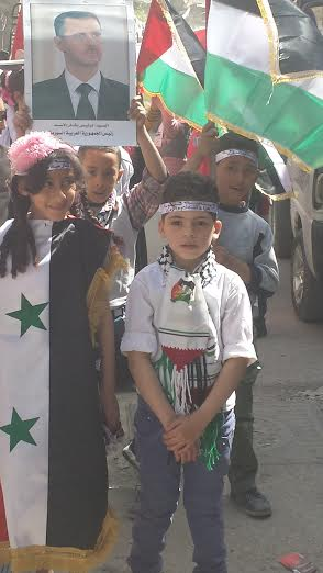 In Jeramana camp, kids prepare to put on a show in honor of Yom al-Ard.
