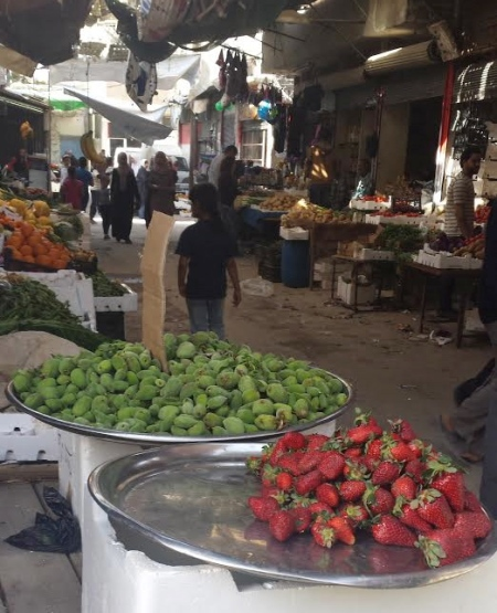 Fresh food is available and accessible in Jeramana, Homs and all Palestinian camps that have not been overrun by rebel fighters.